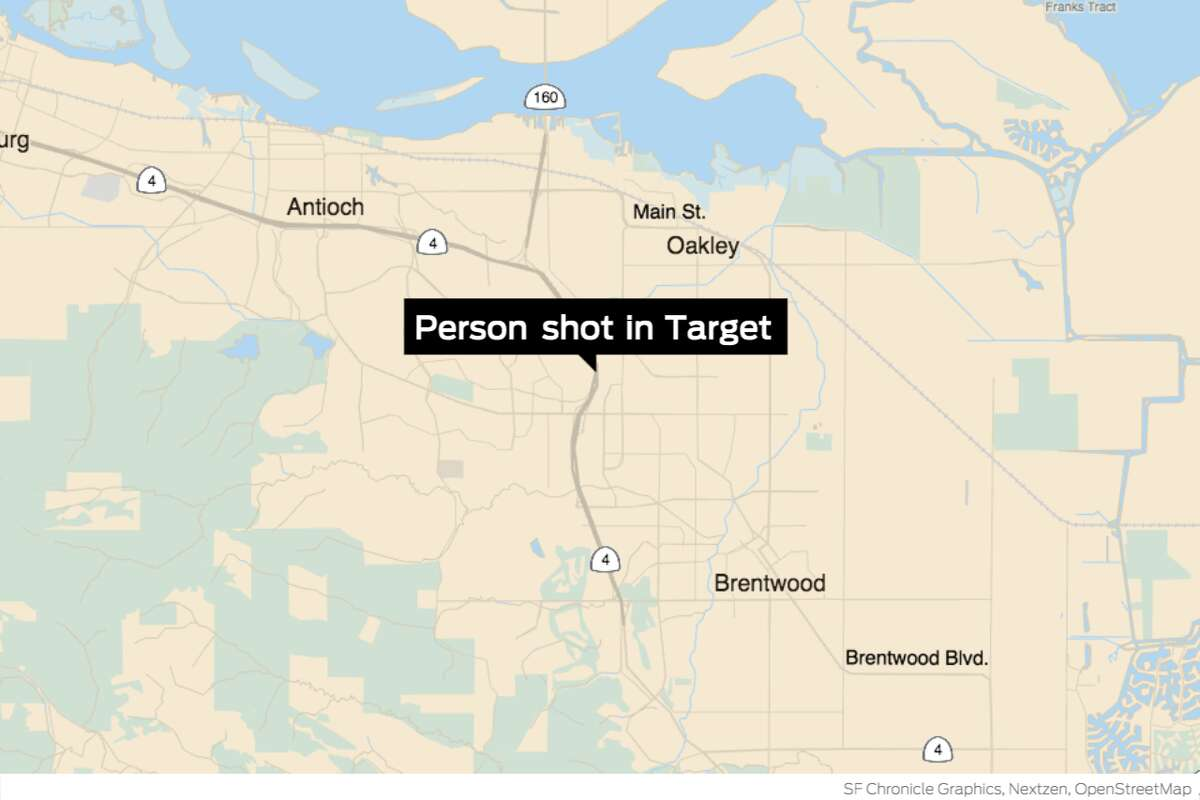 EMS personnel treated one person for gunshot wounds near the pharmacy inside the Target on Lone Tree Way shortly after 2 p.m.