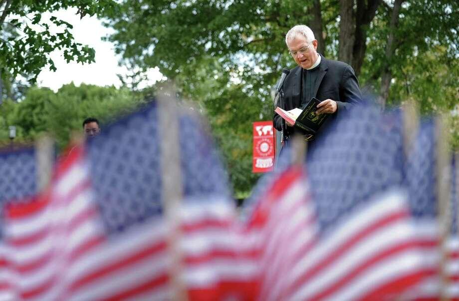 The Rev. Gerry Blaszczak, S.J. Photo: Autumn Driscoll / Hearst Connecticut Media / Connecticut Post