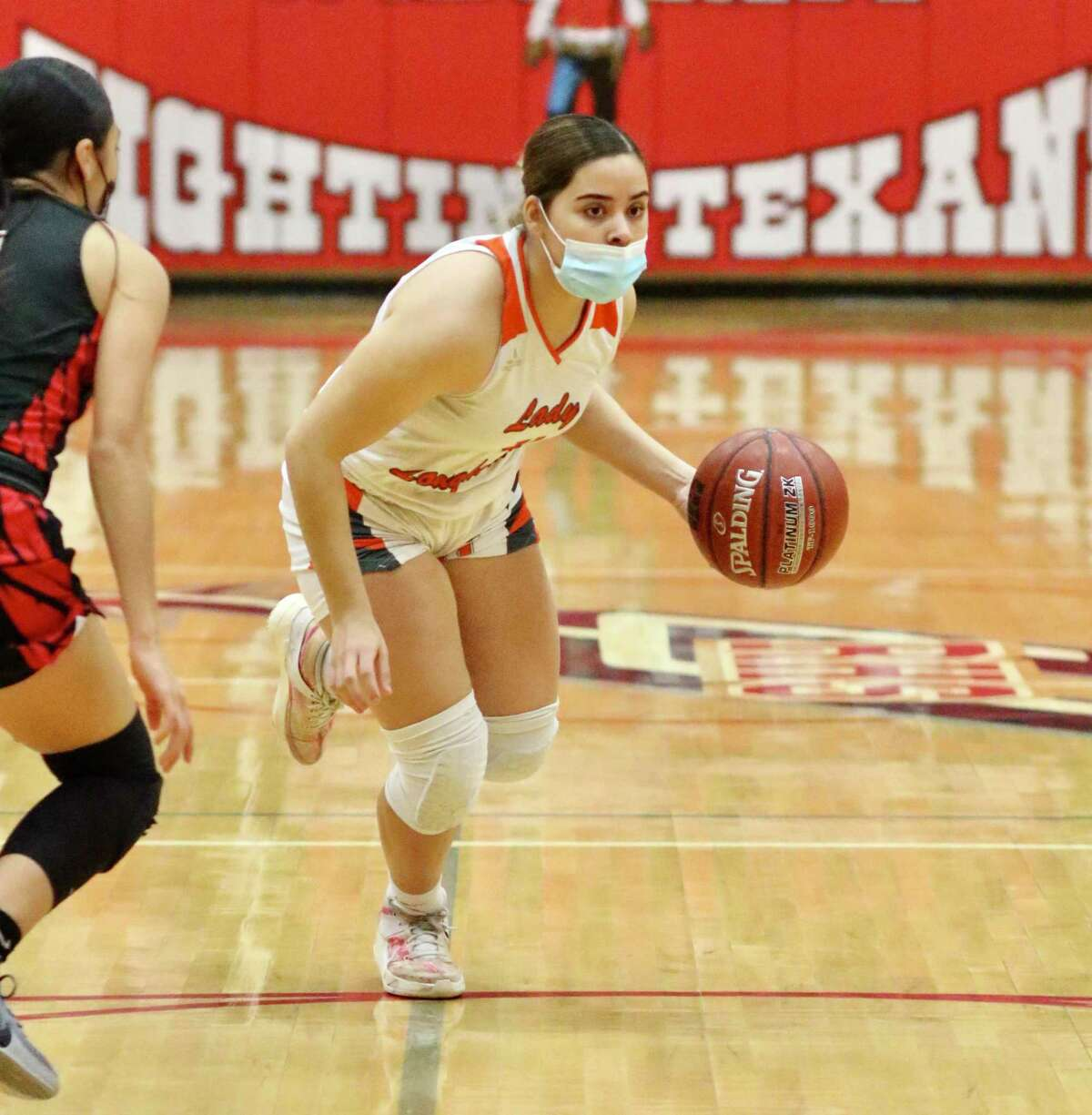 Evelyn Quiroz scored 18 points in her final game for United on Wednesday as the Lady Longhorns were eliminated with a 77-71 overtime loss to San Antonio Stevens.