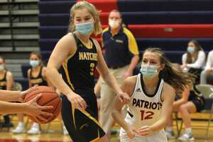The Bad Axe girls basketball team traveled to Sebewaing on Wednesday night and came away with a 36-30 win over the USA Patriots, who suffered their first loss of the season.