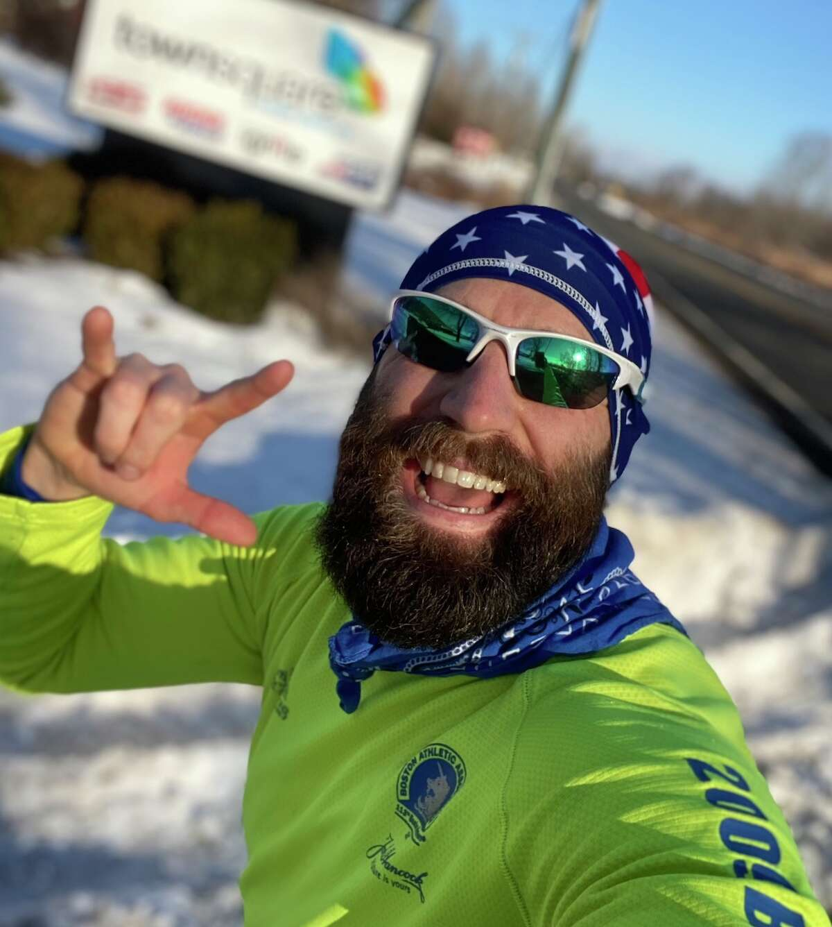 """Brookfield resident Mike Silvestri is running the """"Goggins Challenge"""" over 48 hours to raise money for the CT Restaurant Association's Restaurant Relief Fund"""