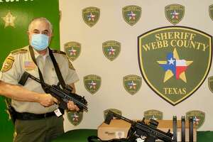 Sheriff Martin Cuellar said the Friends of the National Rifle Association foundation have awarded a grant to the Webb County Sheriff's Office to purchase two rifles.