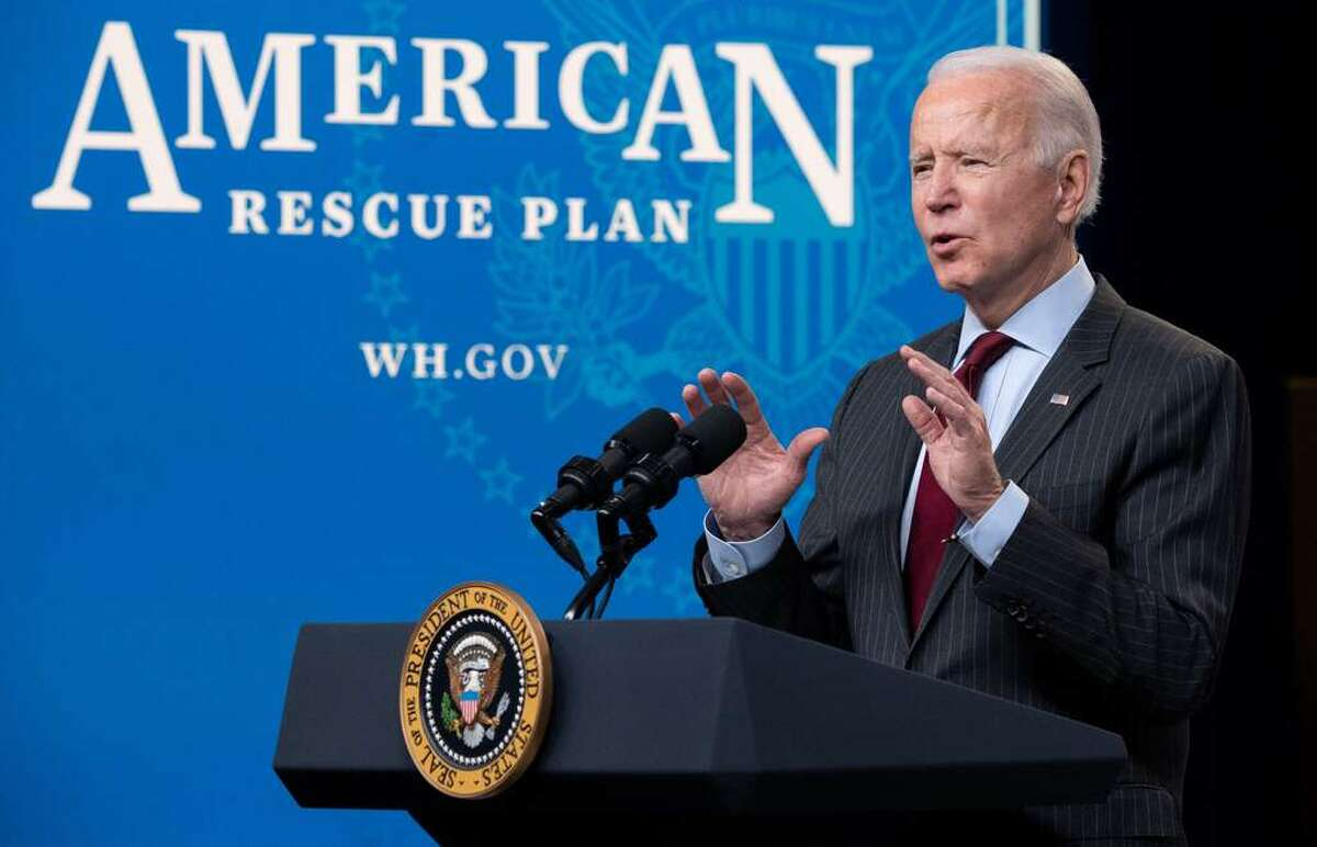 """FILE. Letter writer says, 'President Joe Biden has been in the White House for a little more than a month. My blood pressure has slowly dropped to a normal rate. We are no longer governed by misspelled, dribbled tweets from """"the other guy."""" I am grateful.' (SAUL LOEB / AFP)"""
