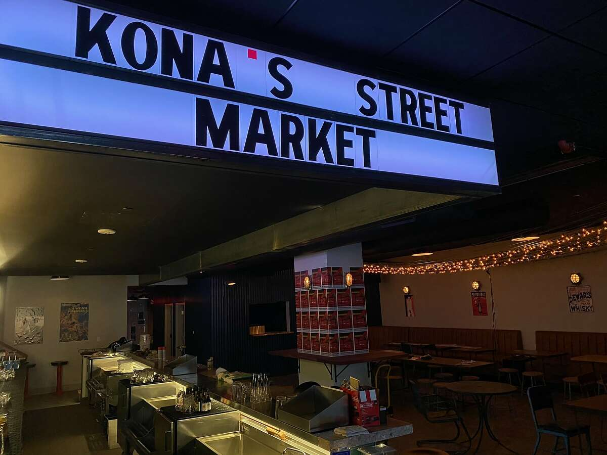 Kona's Street Market is a new bar from the same team behind Pacific Cocktail Haven at 32 3rd St., San Francisco.