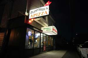 Zuppardi's Apizza in West Haven, Conn., on Wednesday April 10, 2019.