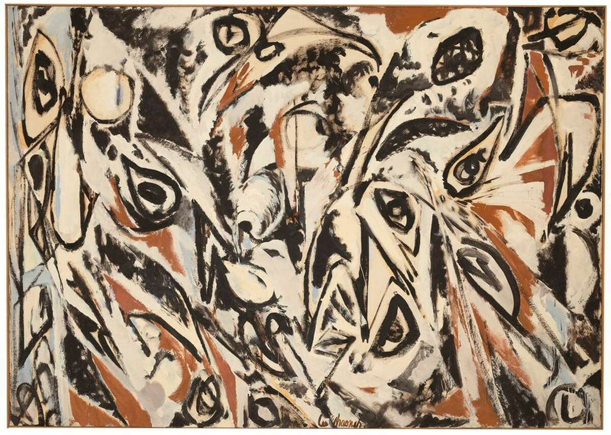 Lee Krasner (1908-1984), Night Watch, 1960, Oil on canvas, 70 x 99 in.