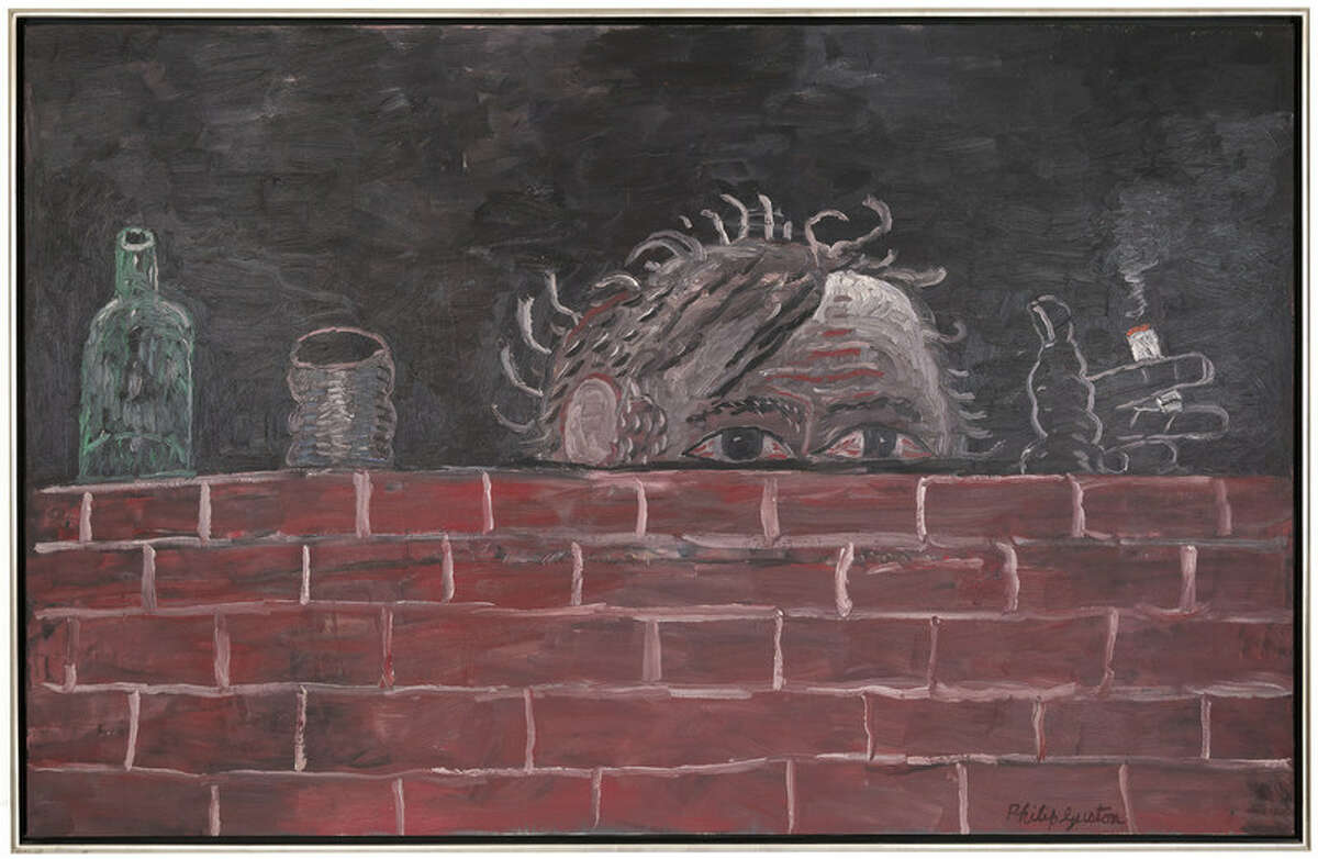 Philip Guston (1913-1980), The Painter, 1976, Oil on canvas, 74 x 116 in.