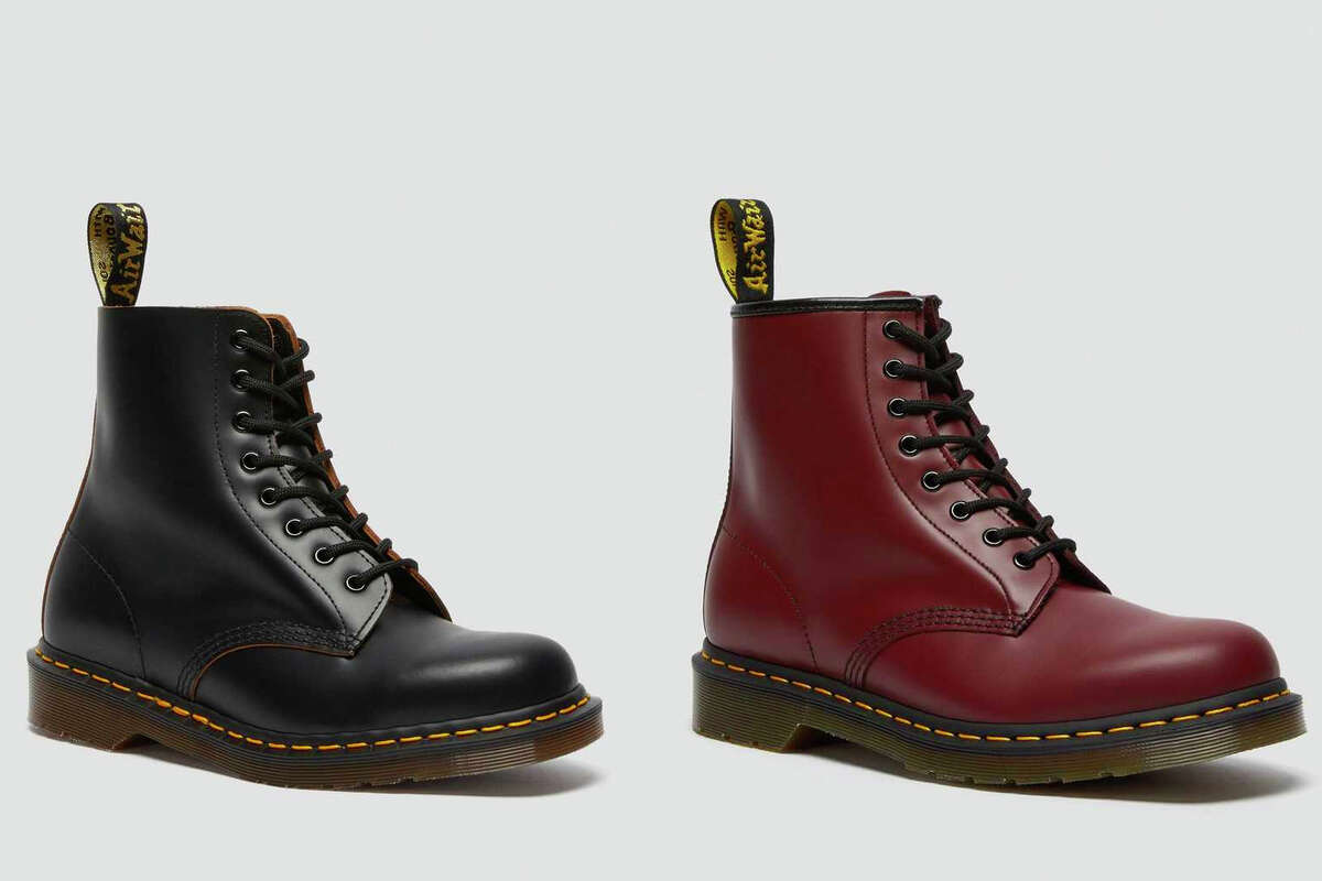 Dr. Martens Made in England.