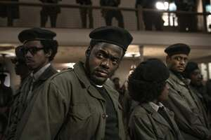 "Daniel Kaluuya plays Fred Hampton in ""Judas and the Black Messiah."""