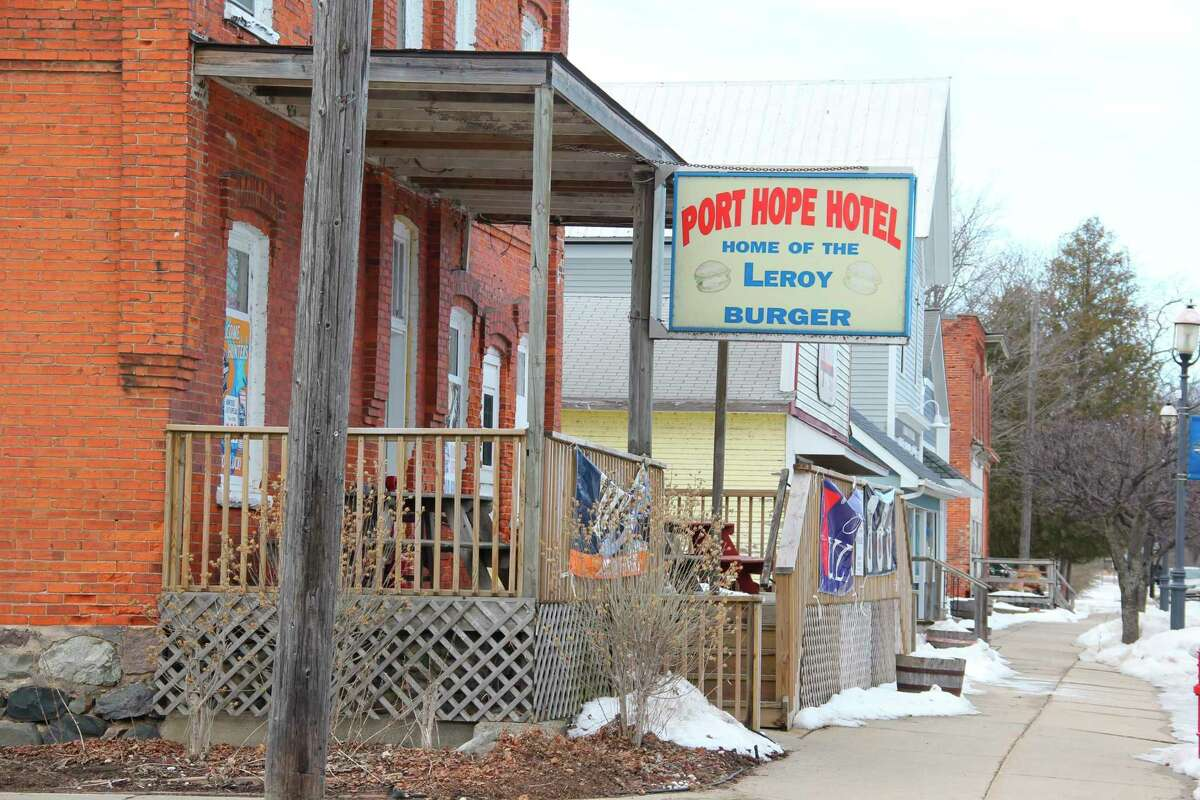 The Port Hope Inn, one of 27 different Huron County small businesses that recently got small business survival grants from the MEDC. (Robert Creenan/Huron Daily Tribune)