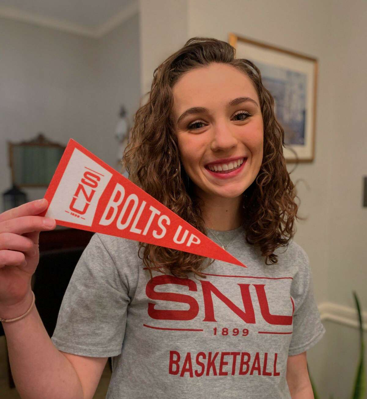 Tomball senior guard Eliza Lehmann played her last home game on Friday, Feb. 5, by scoring 18 points and in a win against Klein and officialy became a member of the 1000-point club. She recently committed to Southern Nazarene University.