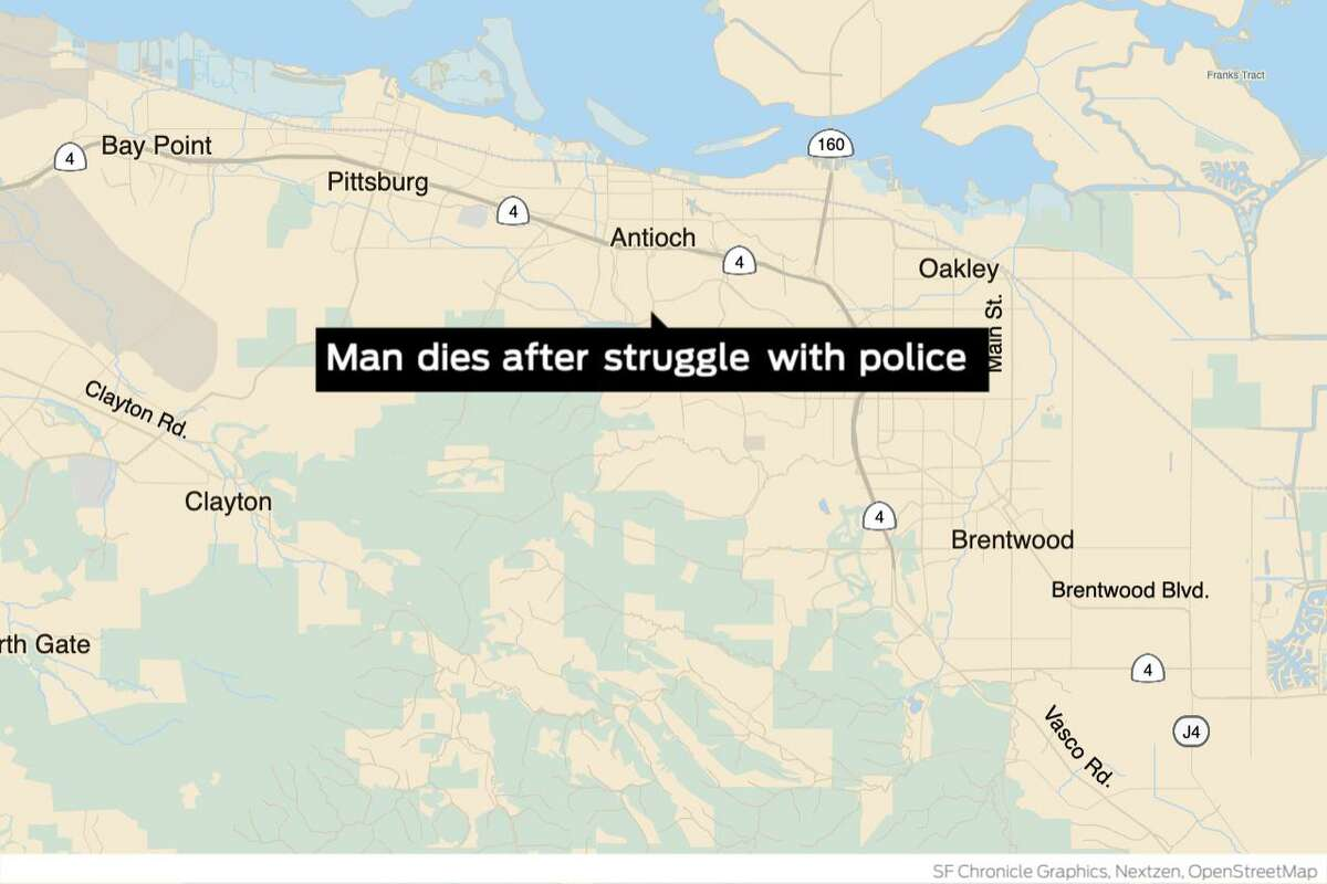 A 33-year-old man having an apparent emotional crisis died after being subdued by an electronic stun gun on a busy Antioch street early Wednesday, police said. The incident occurred shortly after midnight on James Donlon Boulevard near Lone Tree Way.