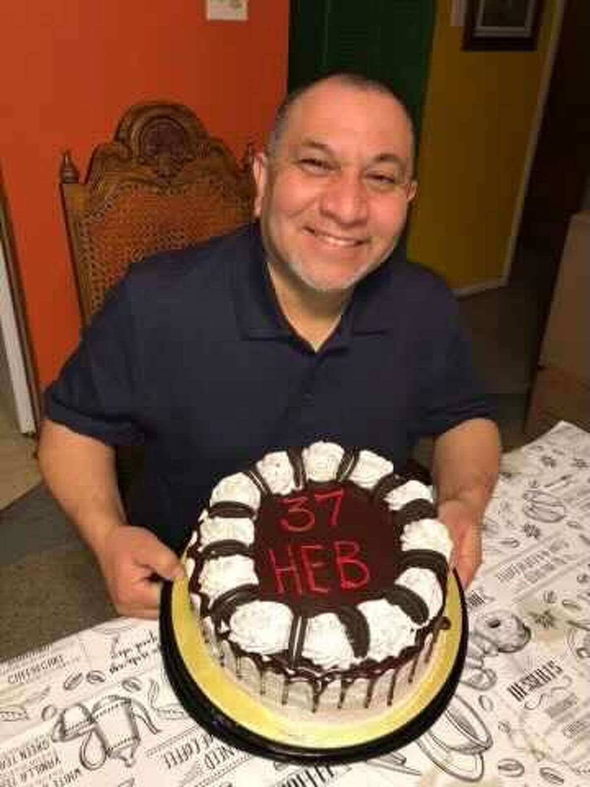 His son, Richard Ortega Jr., said his father worked in the produce department at the H-E-B on 410 and Bandera for 38 years.