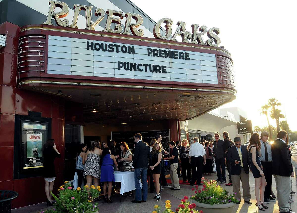 The Houston premiere of Puncture at the River Oaks Theater Saturday Sept. 24,2011.(Dave Rossman/For the Chronicle)