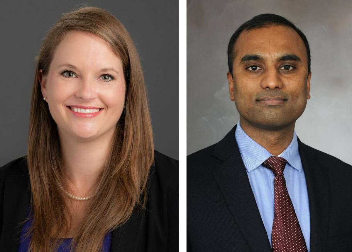Jennifer Hughes, a clinical psychologist, and Dr. Sudhakar Selvaraj, a psychiatrist, work with McGovern Medical School at UTHealth and UT Physicians to treat patients facing mental health issues.
