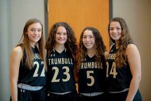 Trumbull seniors Julia Lindwall, Grace Lesko, Amanda Ruchalski and Cassi Barbato are all playing significant minutes and contributing in different ways for the No. 8 ranked Eagles.