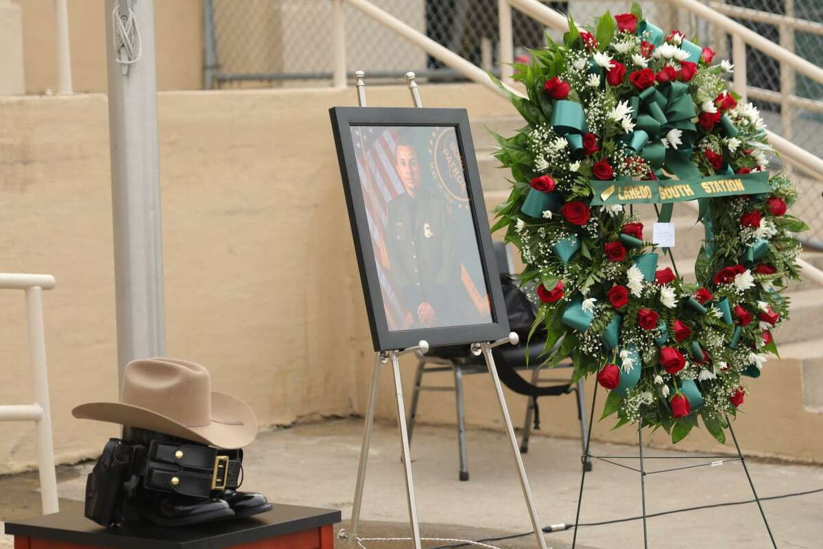 Agents from the Laredo South Border Patrol Station held a memorial service in honor of Agent Walid M. Hussein. He joined the Border Patrol in January 2019 and served his country honorably.