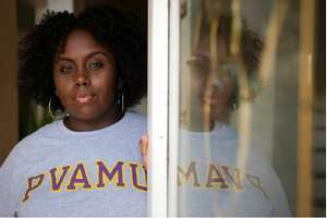 Prairie View A&M University graduate Jayla Allen, 22, became the lead plaintiff in a lawsuit alleging Waller County violated the constitutional rights and federal protections for Black voters when it set up its 2018 early voting schedule.