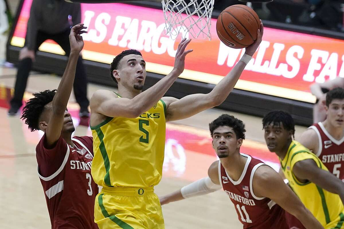 Oregon guard Chris Duarte led all scorers with 24 points in a win at Stanford.