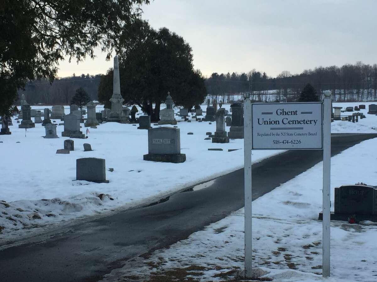 Ghent Union Cemetery. (James White / Times Union)