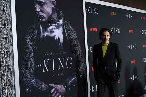 """Actor Timothee Chalamet attends the premiere of """"The King"""" at SVA Theatre on Tuesday, Oct. 1, 2019, in New York."""