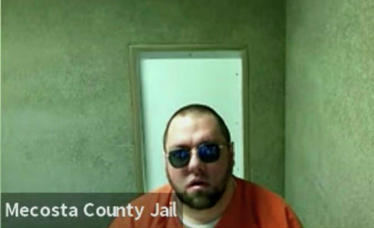 Andrew C. Wernette appeared in Osceola County's 49th Circuit Court, via Zoom, on Friday for a settlement conference hearing. Wernette pleaded to a slew of charges related to drugs and child pornography. (Photo courtesy of Youtube via Zoom)