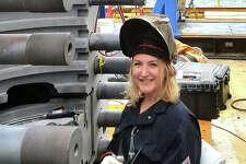 L&C grad and professional welder Charlie Vonder Haar teaches welding to women and weekend warriors.