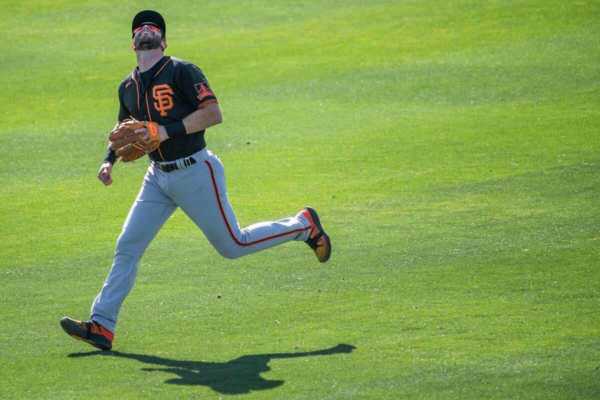 Giants third baseman Evan Longoria is getting in shape for his 14th big-league season.