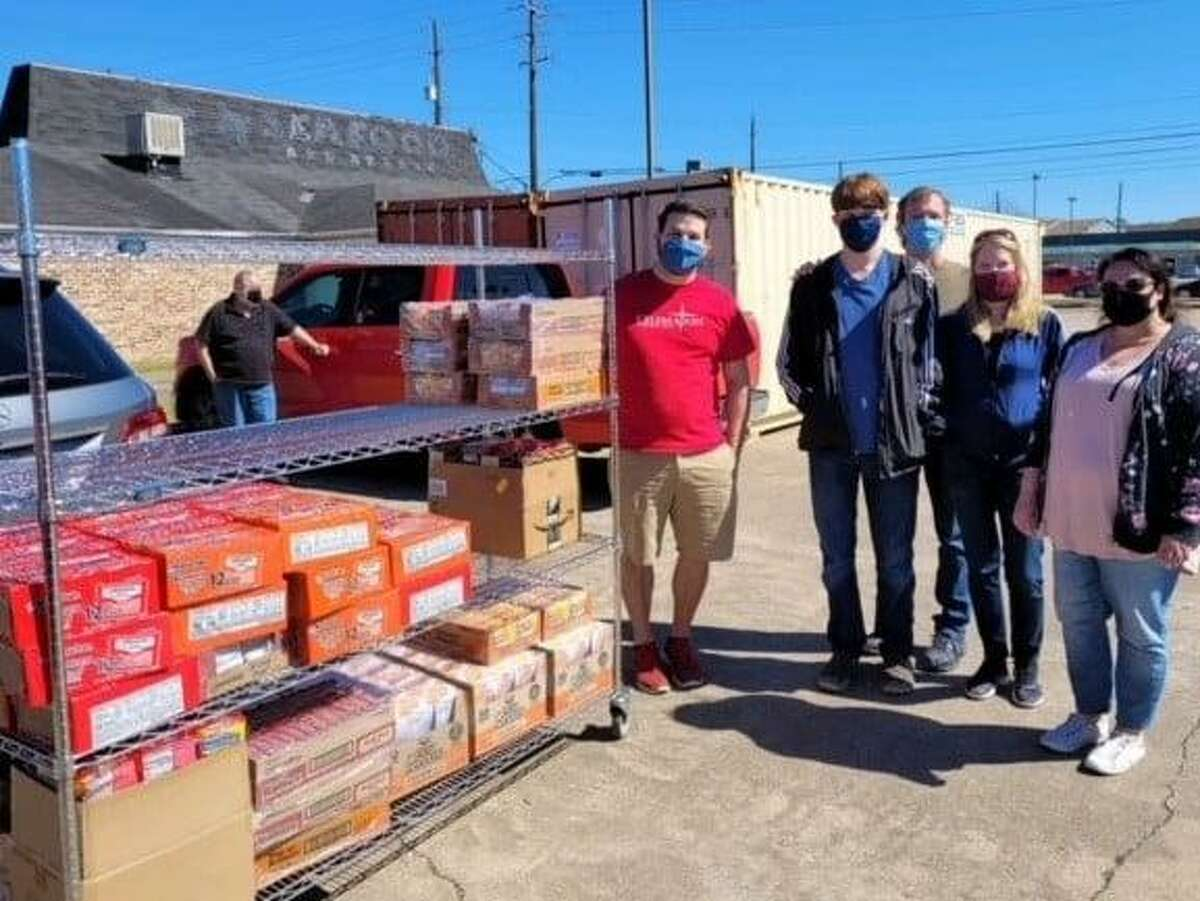 After the storm Cypress Assistance Ministries received aid from Girl Scouts, Celebration Church and Centerpoint Energy.