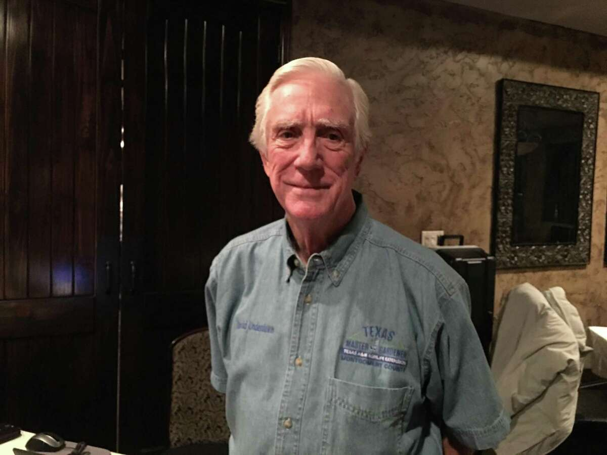 Montgomery County Master Gardener David Underdown was speaker at the last meeting of Lake Conroe Centennial Lions Club.