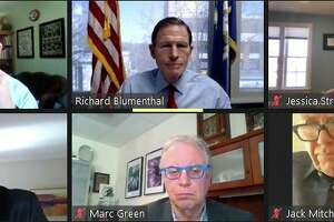 Sen. Richard Blumenthal, D-Connecticut, held an online forum with the Connecticut Retail Merchants Association on Friday, Feb. 27, 2021 to hear the concerns of retailers around the state.