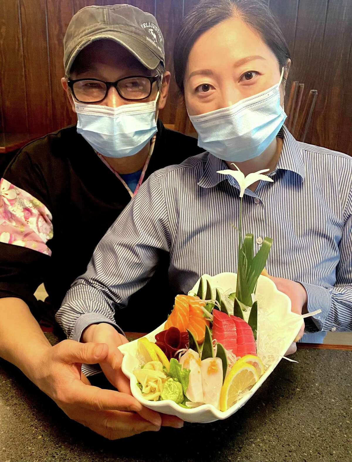 Jeff Fang and Bing Xu, owners of Yokohamaya Japanese, a restaurant in Cypress opening a second location in Tomball.