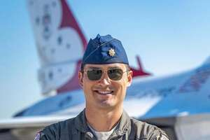 "The United States Air Force Air Demonstration Squadron, known as the ""Thunderbirds,"" announced selections for the 2021-2022 show seasons on Wednesday. Maj. Thomas Werner, of the 182nd Fighter Squadron at Texas Air National Guard, will fly the No. 7 jet, serving as the team's operations officer."