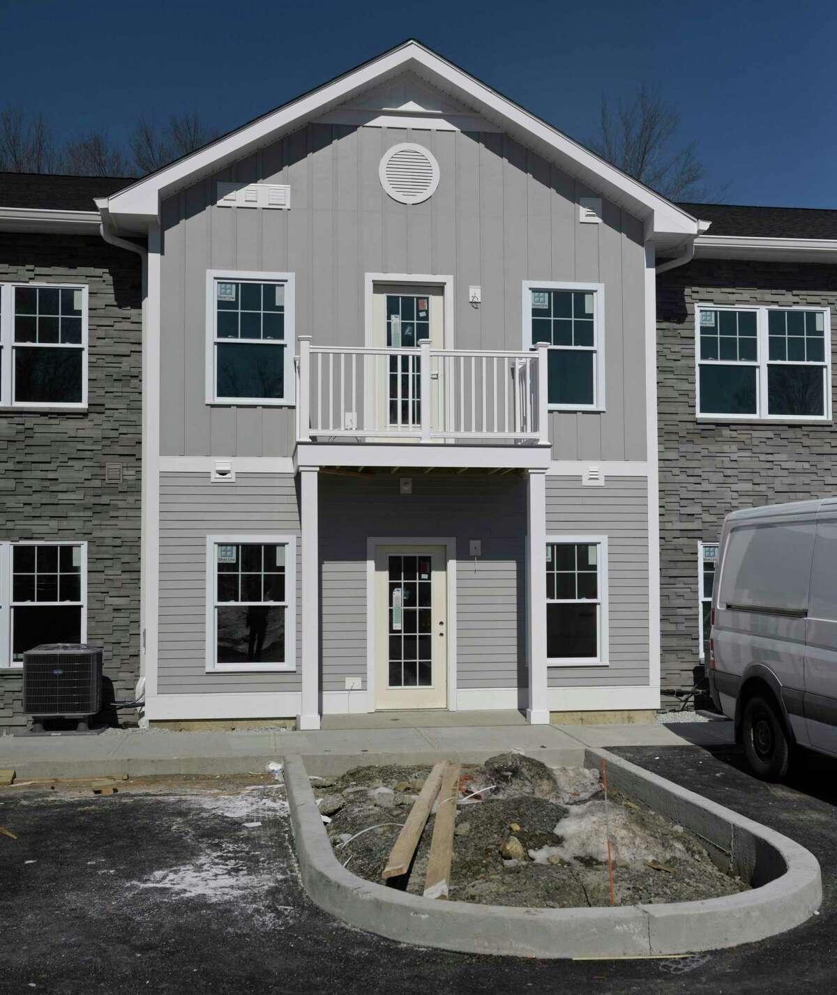 New residential development, Farrell Communities of Sandy Hook, in Newtown, Conn. Friday, February 26, 2021.