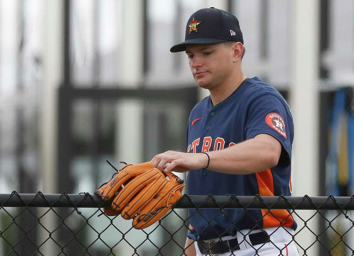 Astros pitcher Brandon Bielak doesn't want the Astros to be on the fence regarding his ability.
