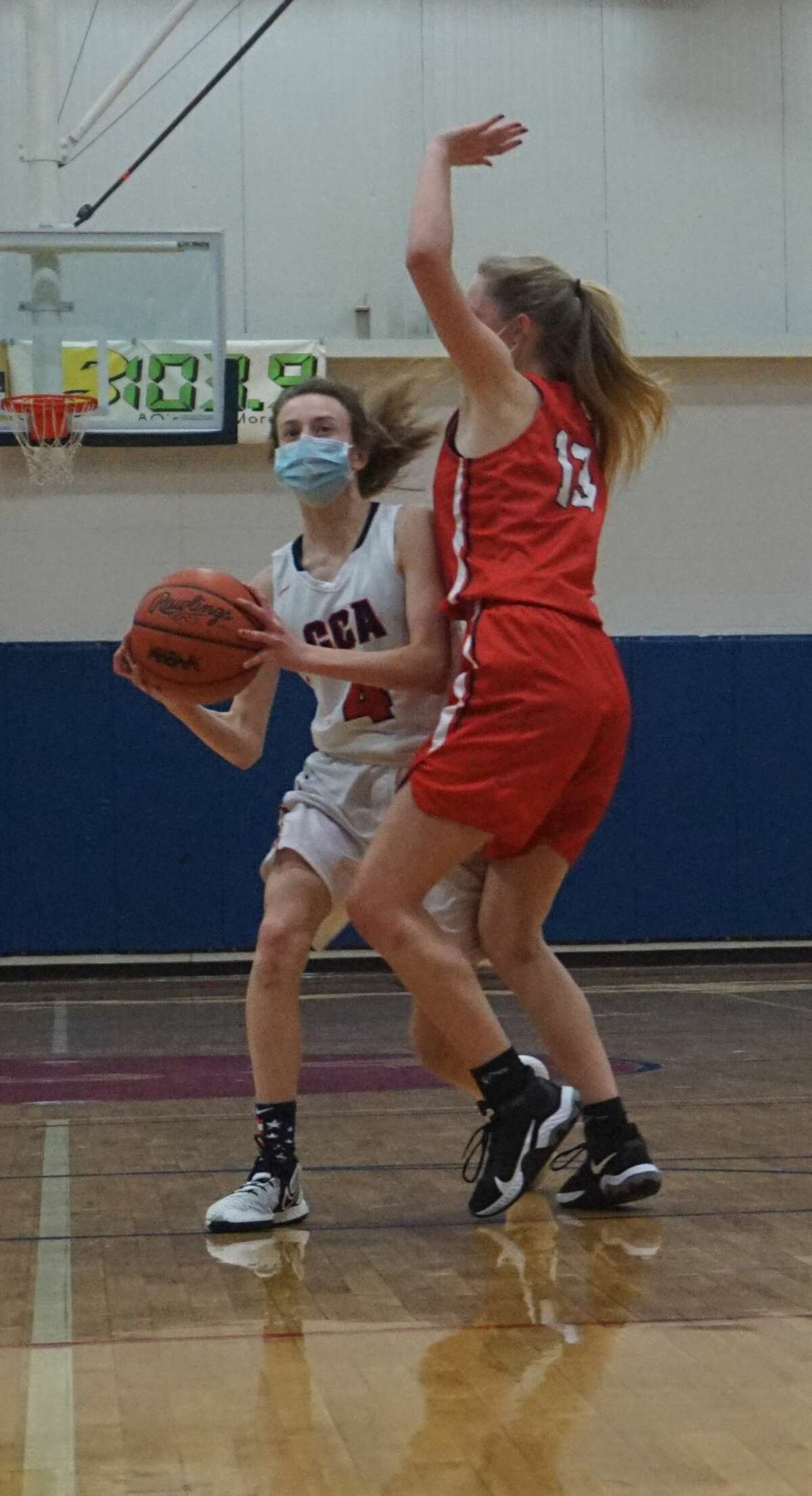 The Crossroads Charter Academy boys and girls' basketball teams played host to the Bear Lake teams on Friday evening.