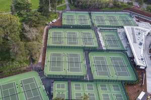 the Lisa and Douglas Goldman Tennis Center in Golden Gate Park