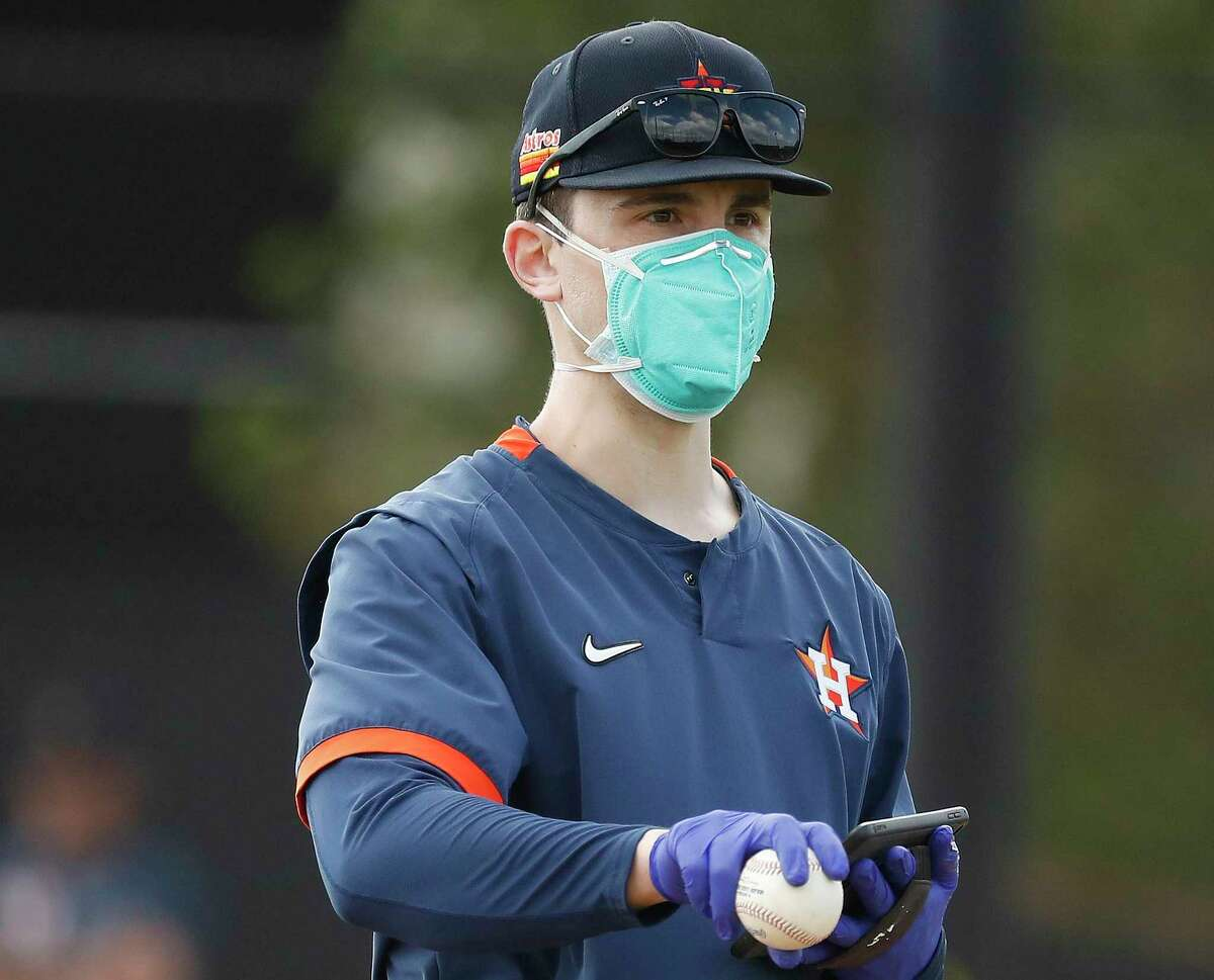 Since being hired by the Astros from Brown University, 31-year-old Bill Murphy has risen from rookie ball coach to assistant pitching coach with the major league club.