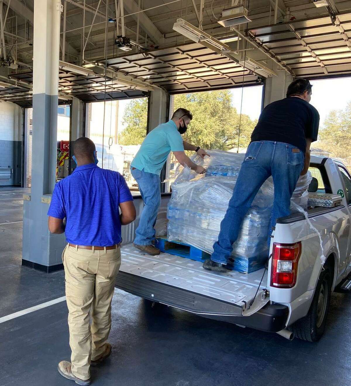 Jersey Village city staff spoke highly of the help from local residents, public works and others for supplying water, sanitizing water and more.
