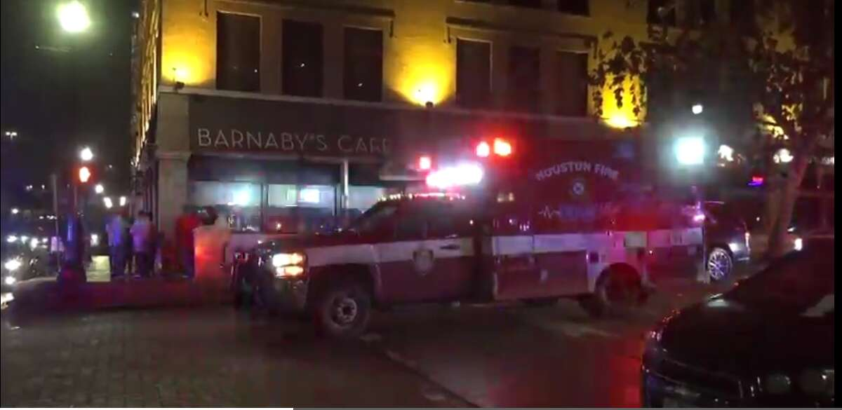 A man was shot across from a Midtown bar.