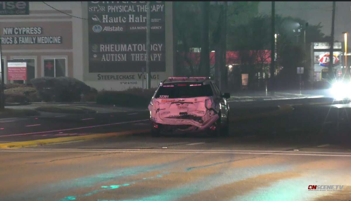 A Harris County Sheriff's Office sergeant was hit by a suspected intoxicated driver.