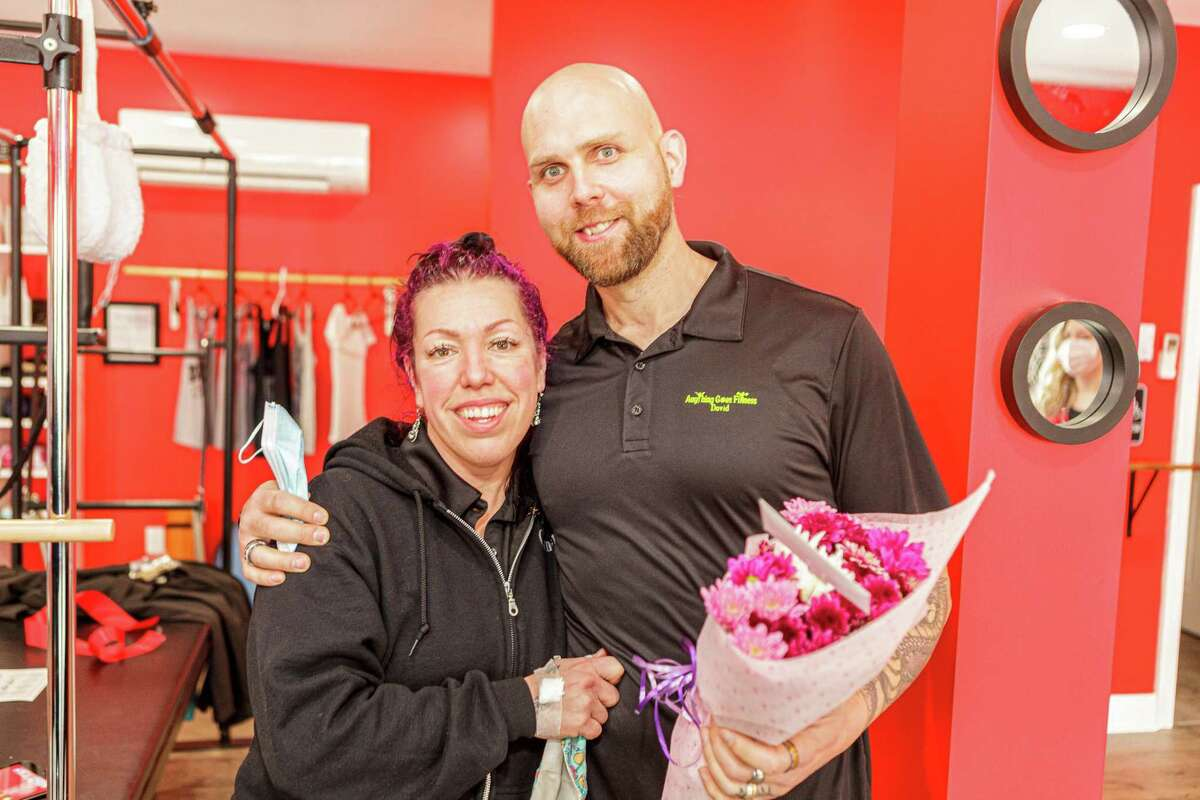 Jolene Messere and David Telesco recently celebrated the expansion of their Shelton fitness operation with the grand opening of Pilates Barre at its new location at 415 River Road.