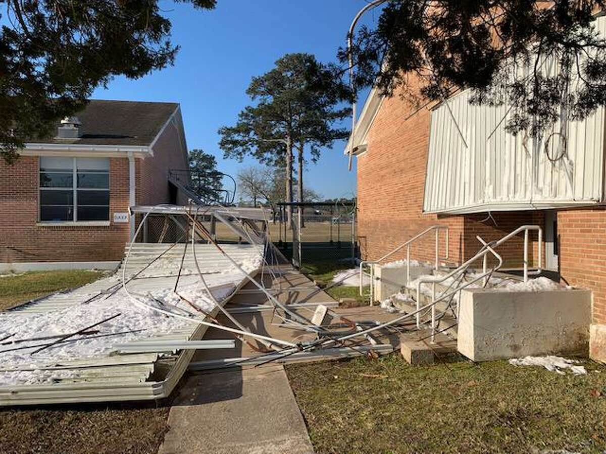 Executive Director of Facilities Tim Bruner said Magnolia ISD is estimating $150,000 in damage across the district due to the ice storm.