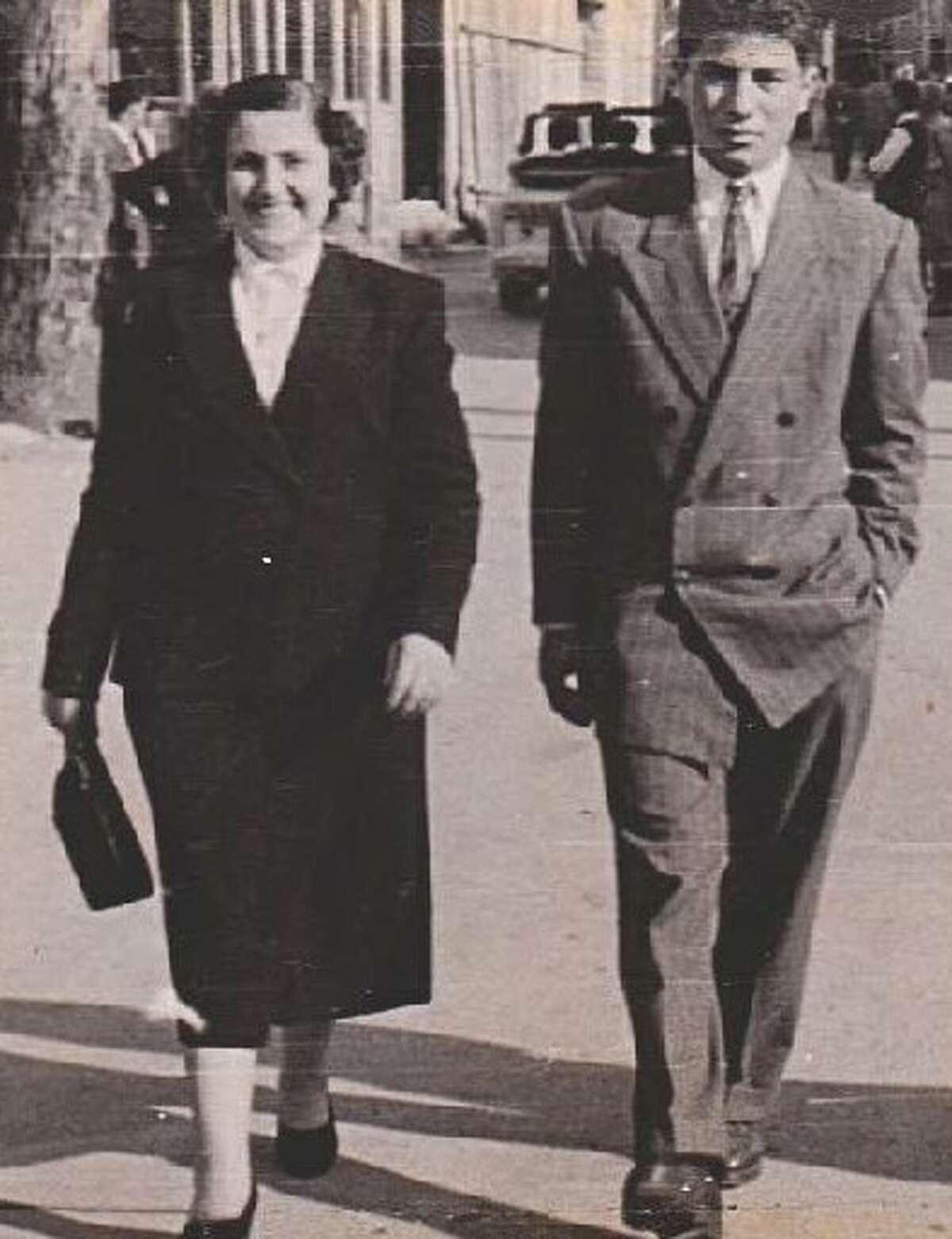 Nazha & John Kaddo were wed 70 years ago on Feb. 28, 1951 in Zghorta, Lebanon.