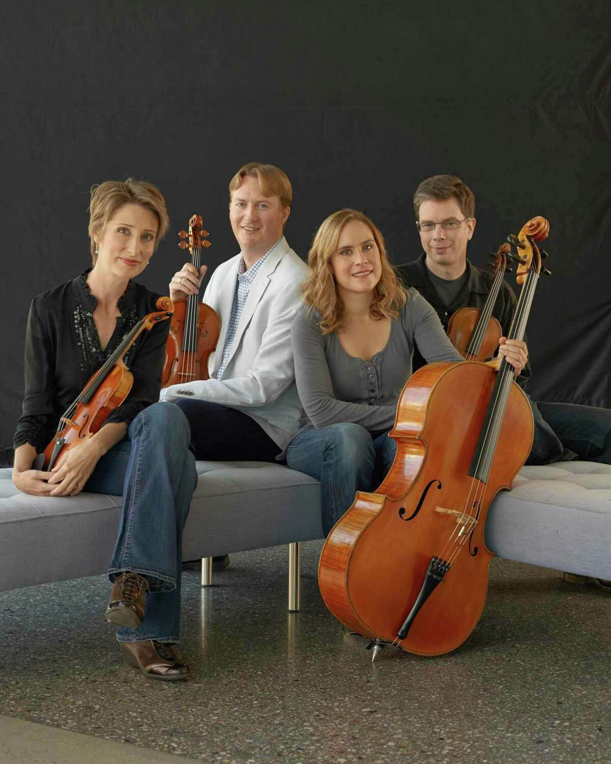 The West Shore Community College Performing Arts Living Room Series will feature a musical evening with the Fry Street String Quartet on Thursday, March 4 at 7:30 p.m. (Courtesy photo)