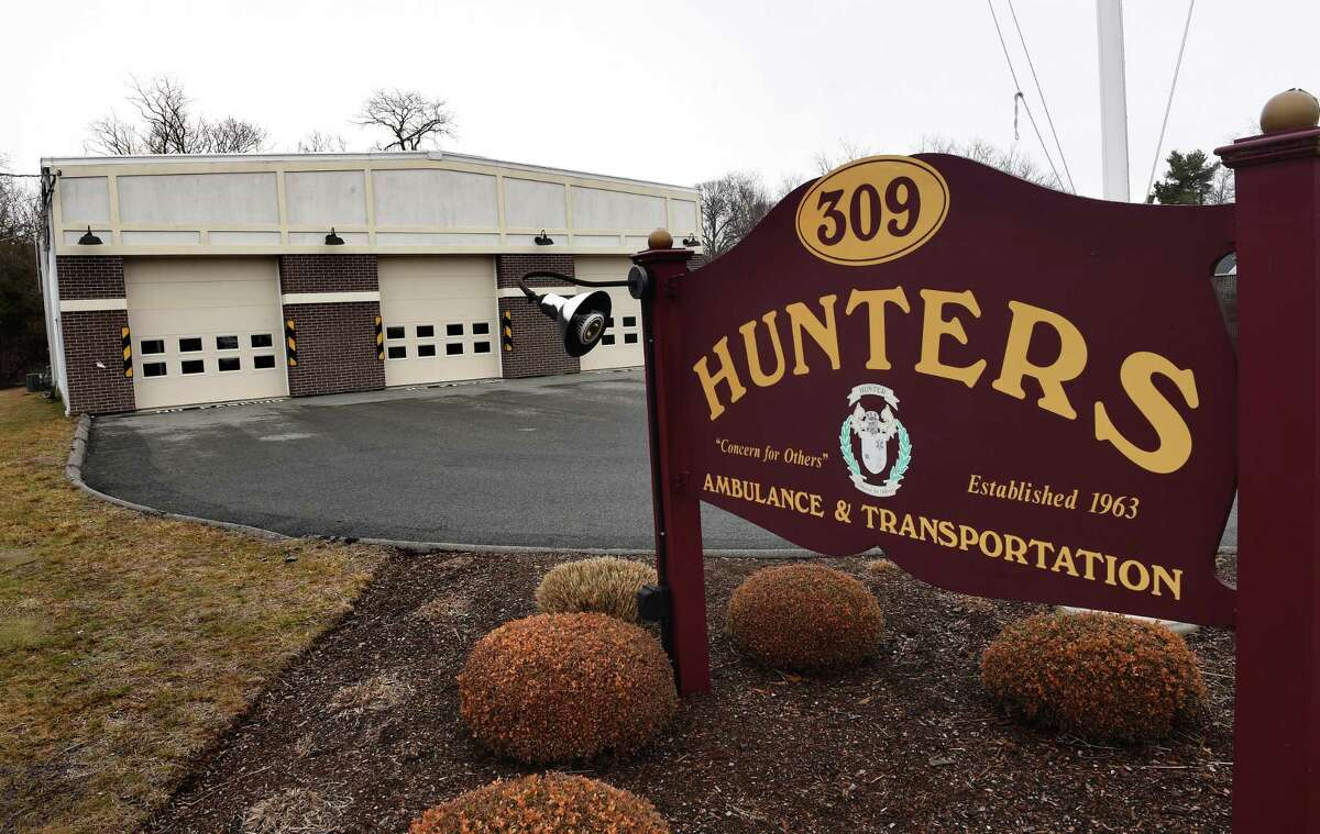 Hunters Ambulance & Transportation at 309 Boston Post Road in Old Saybrook on Sunday.