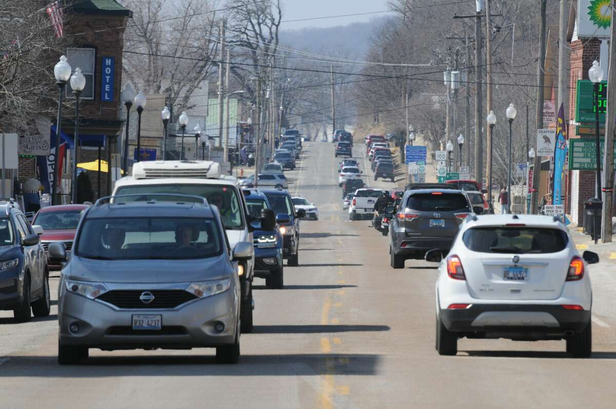 Main Street through the center of Grafton is one proposed new Tax Increment Financing district. Grafton closed its former TIF district in 2018.