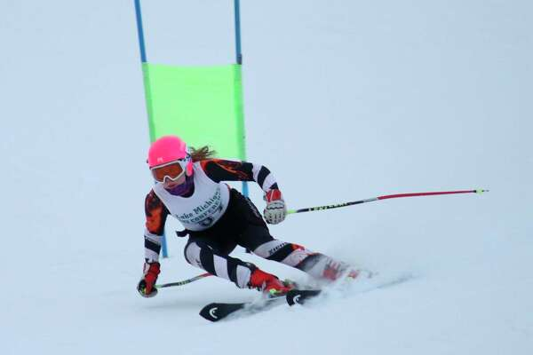 Aada Tukiainen finished 15th in the state in the giant slalom. (News Advocate file photo)
