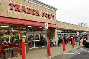 Exterior of Trader Joe's on Friday, Dec. 4, 2020 in Colonie, N.Y. (Lori Van Buren/Times Union)