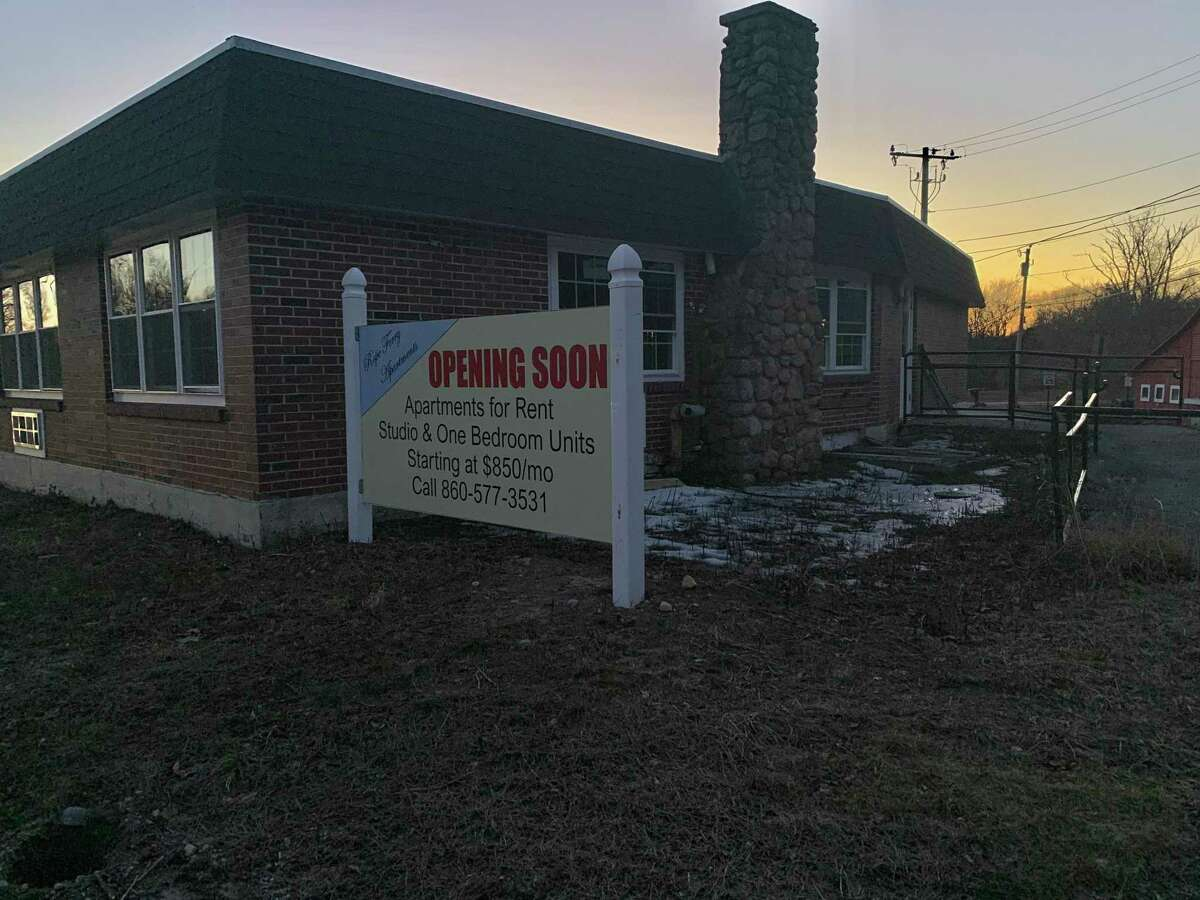 A former nursing home on Rope Ferry Road in Waterford being converted into an apartment complex.